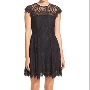 BB Dakota Open Back Lace Dress